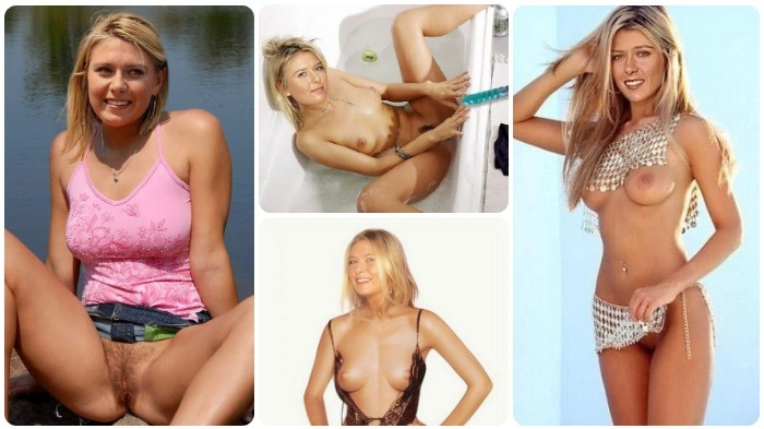 Maria Sharapova poses for nude photos. Gallery - 2