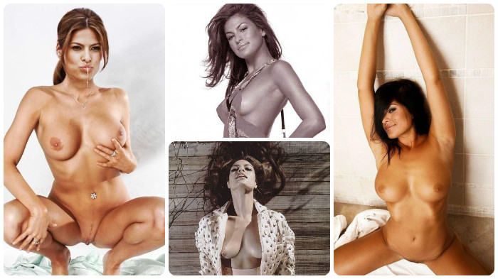 Eva Mendes Nude Pics Topless Scenes Collection