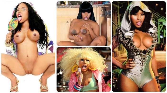 Nicki minaj naked outtake pictures