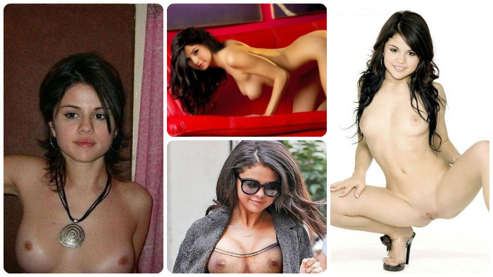 Selena Gomez naked, wide open, and waiting